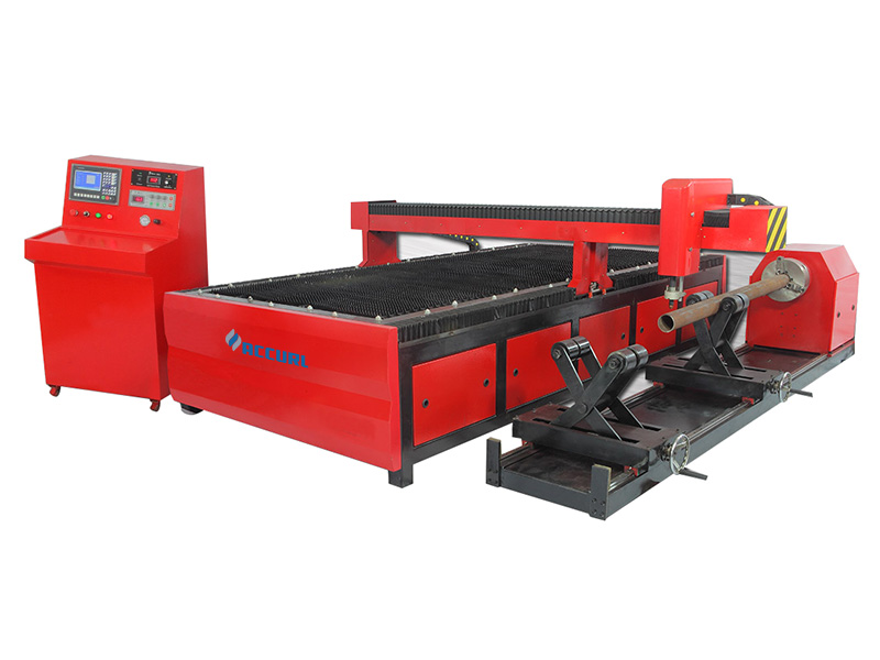 CNC plazmové řezačky trubek